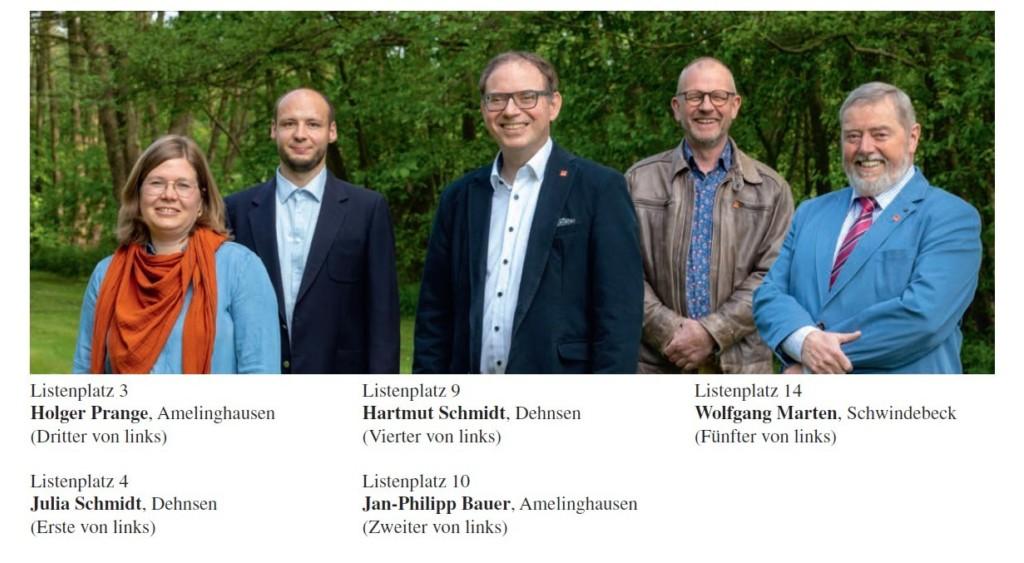 Für den Lüneburger Kreistag